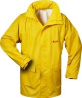 NORWAY PU Regen-Jacke mit Kapuze - gelb - Größe: XXL - 1