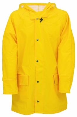 PU Regenjacke 6052-0-1200-M Regenjacke, PU auf Nylon Trägermaterial, Größe M, Farbe: gelb - 1
